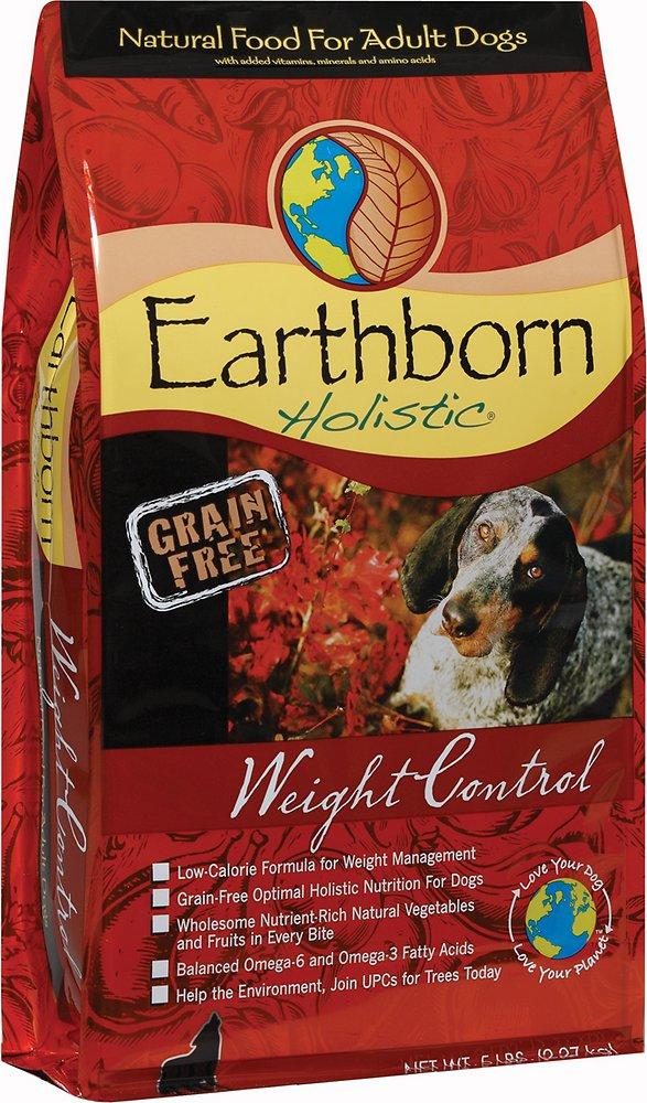 Earthborn Holistic Grain-Free Weight Control Dry Dog Food 5lbs