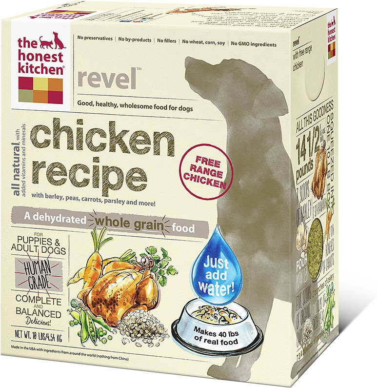 The Honest Kitchen Revel Dehydrated Dog Food 4lbs
