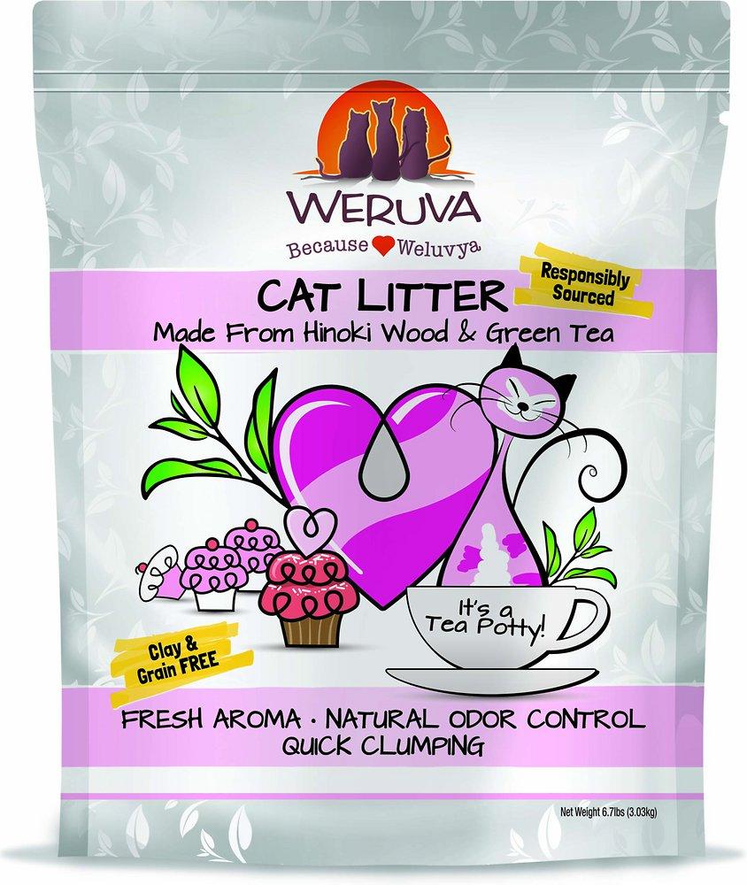 Weruva Natural Quick Clumping Cat Litter 6.7lbs