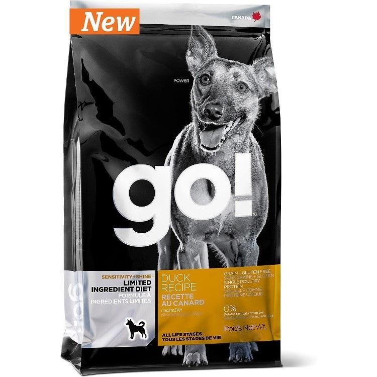Petcurean Go! Sensitivity + Shine Limited Ingredient Diet Duck Recipe Grain-Free Dry Dog Food 25lbs