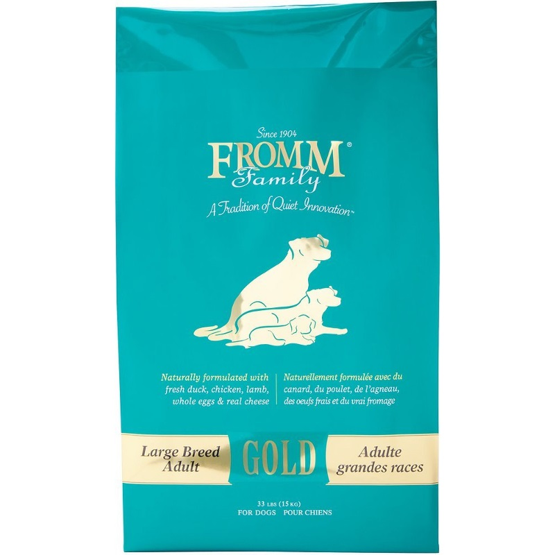 Fromm Gold Holistic Large Breed Adult Dry Dog Food 33lbs