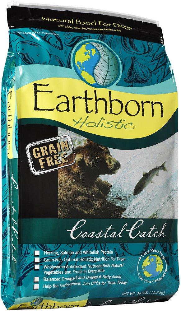 Earthborn Holistic Coastal Catch Grain-Free Natural Dry Dog Food 28lbs