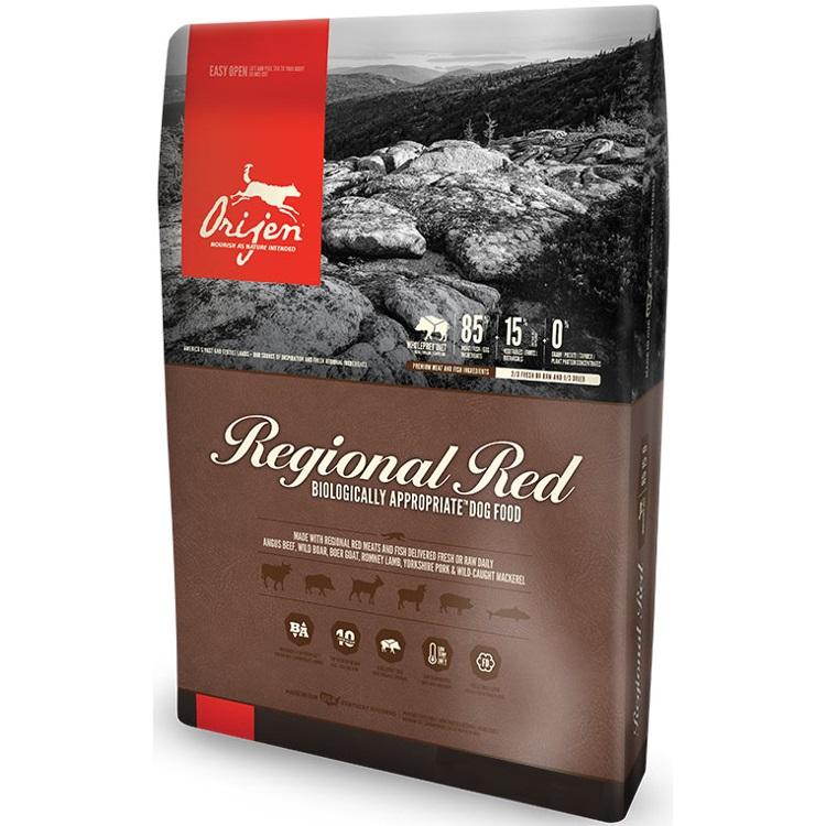 Orijen Regional Red Grain-Free Dry Dog Food 25lbs