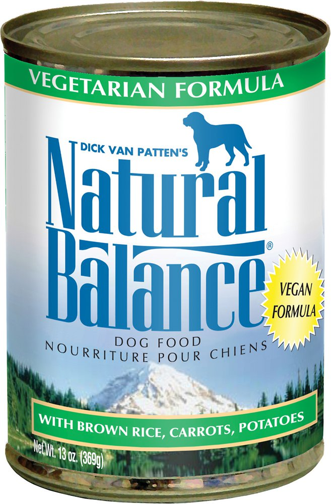 Natural Balance Vegetarian Formula Canned Dog Food 13z, 12
