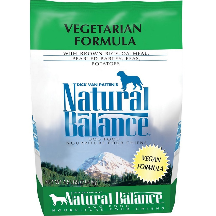 Natural Balance Vegetarian Formula Dry Dog Food 4.5lbs