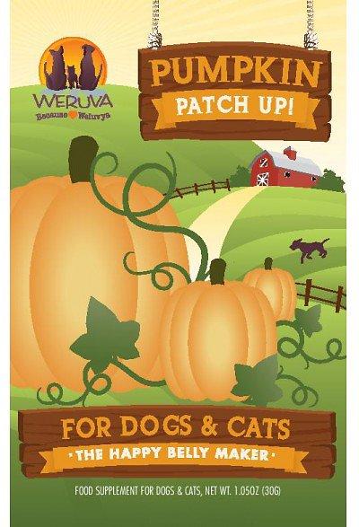 Weruva Pumpkin Patch Up! Dog & Cat Food Supplement Pouch 1.05z, 12