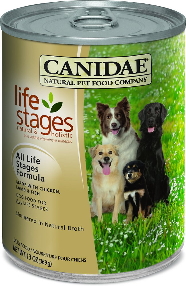 Canidae Life Stages All Life Stages Formula Canned Dog Food 13z, 12