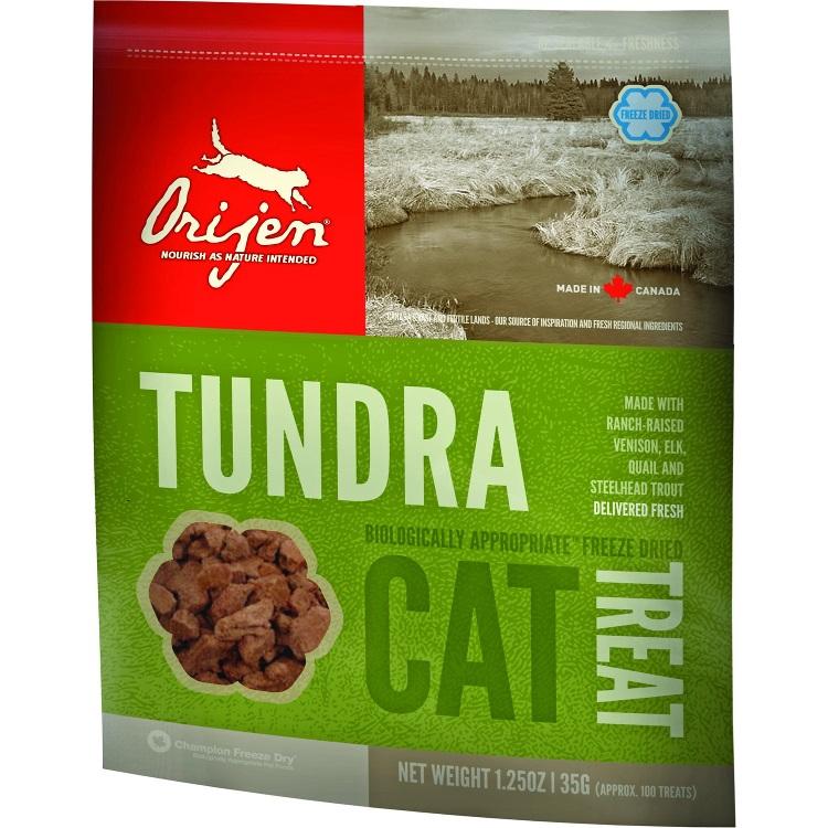 Orijen Tundra Freeze Dried Grain-Free Cat Treats 1.25z