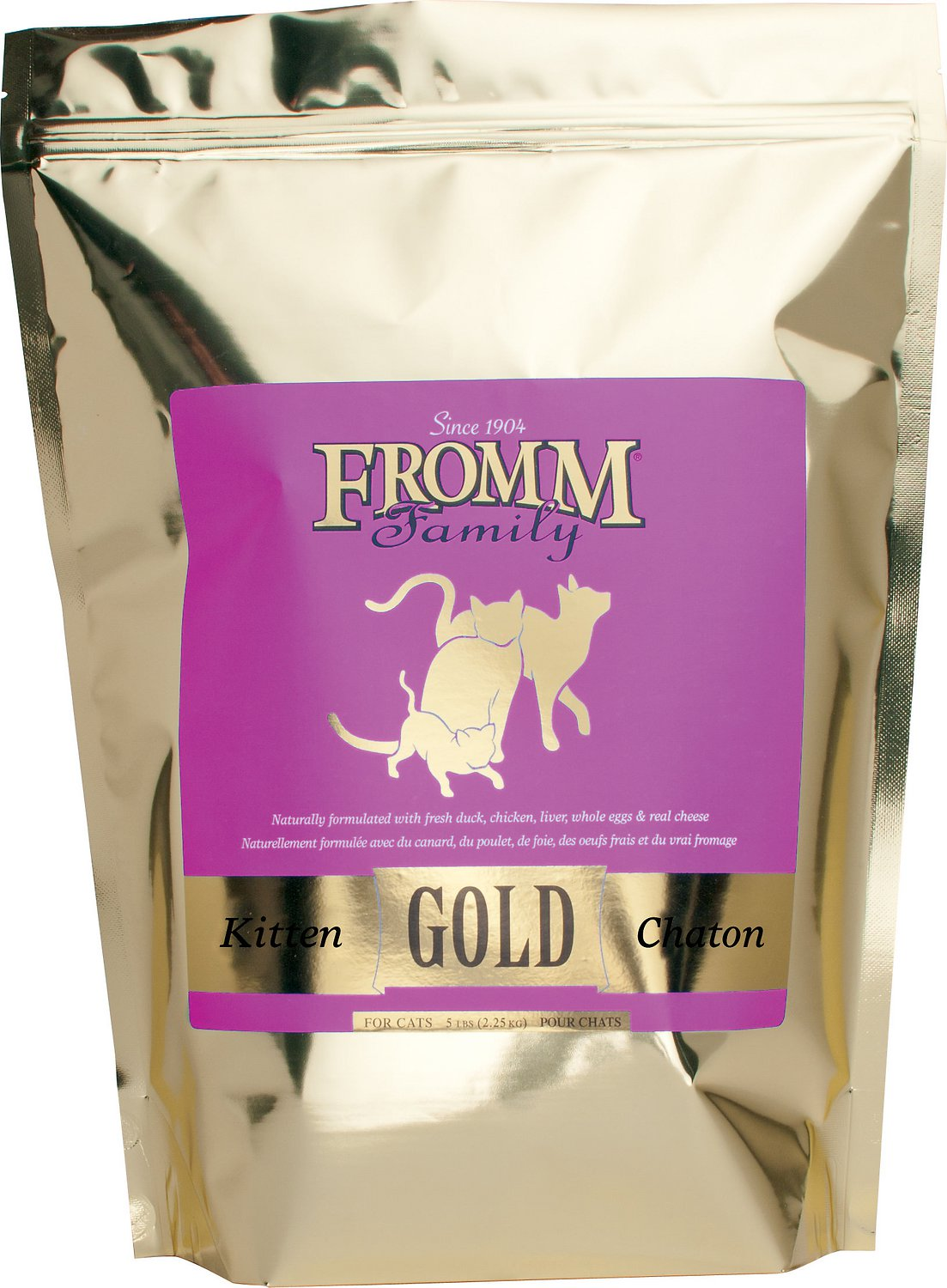 Fromm Gold Holistic Kitten Dry Cat Food 2.5lbs