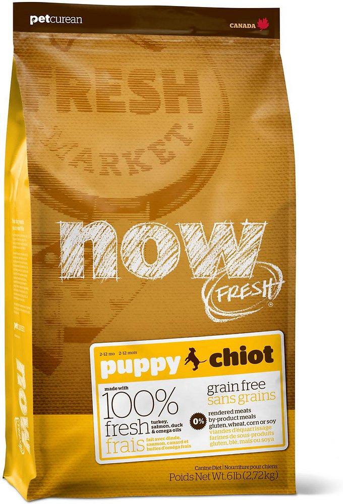 Petcurean Now Fresh Grain-Free Puppy Recipe Dry Dog Food 12lbs