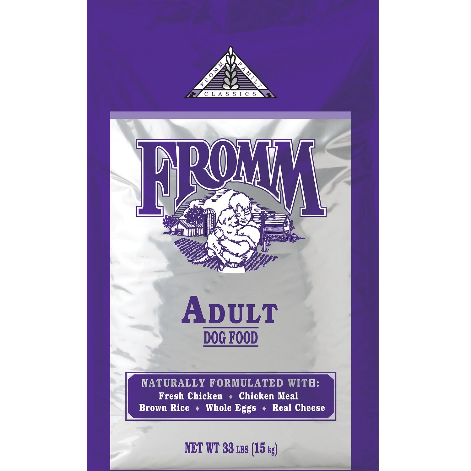 Fromm Family Classics Adult Formula Dry Dog Food 33lbs
