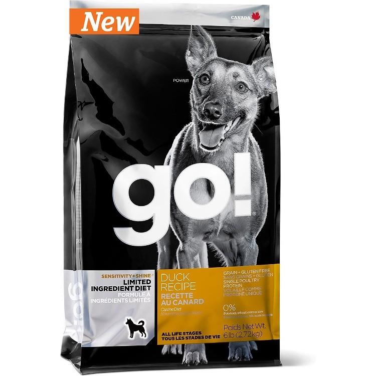 Petcurean Go! Sensitivity + Shine Limited Ingredient Diet Duck Recipe Grain-Free Dry Dog Food 6lbs