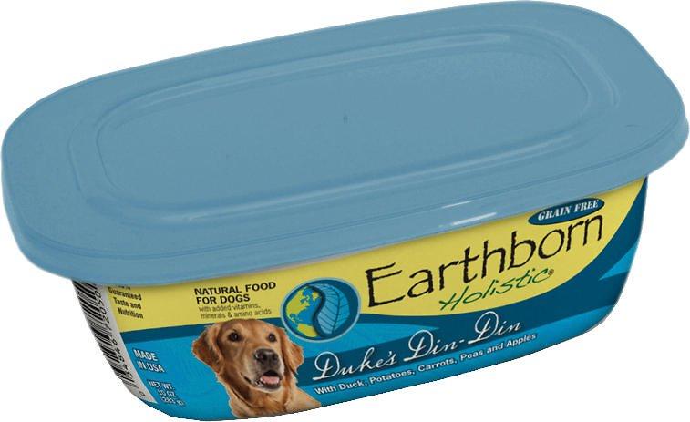 Earthborn Holistic Duke's Din-Din Grain-Free Natural Moist Dog Food 9z, 8