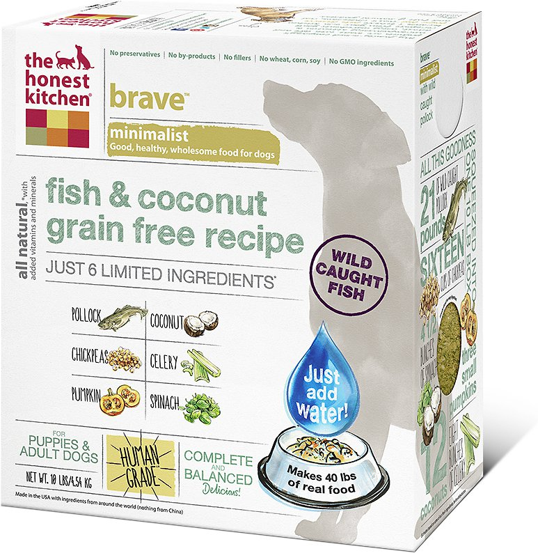 The Honest Kitchen Brave Dehydrated Dog Food 10lbs