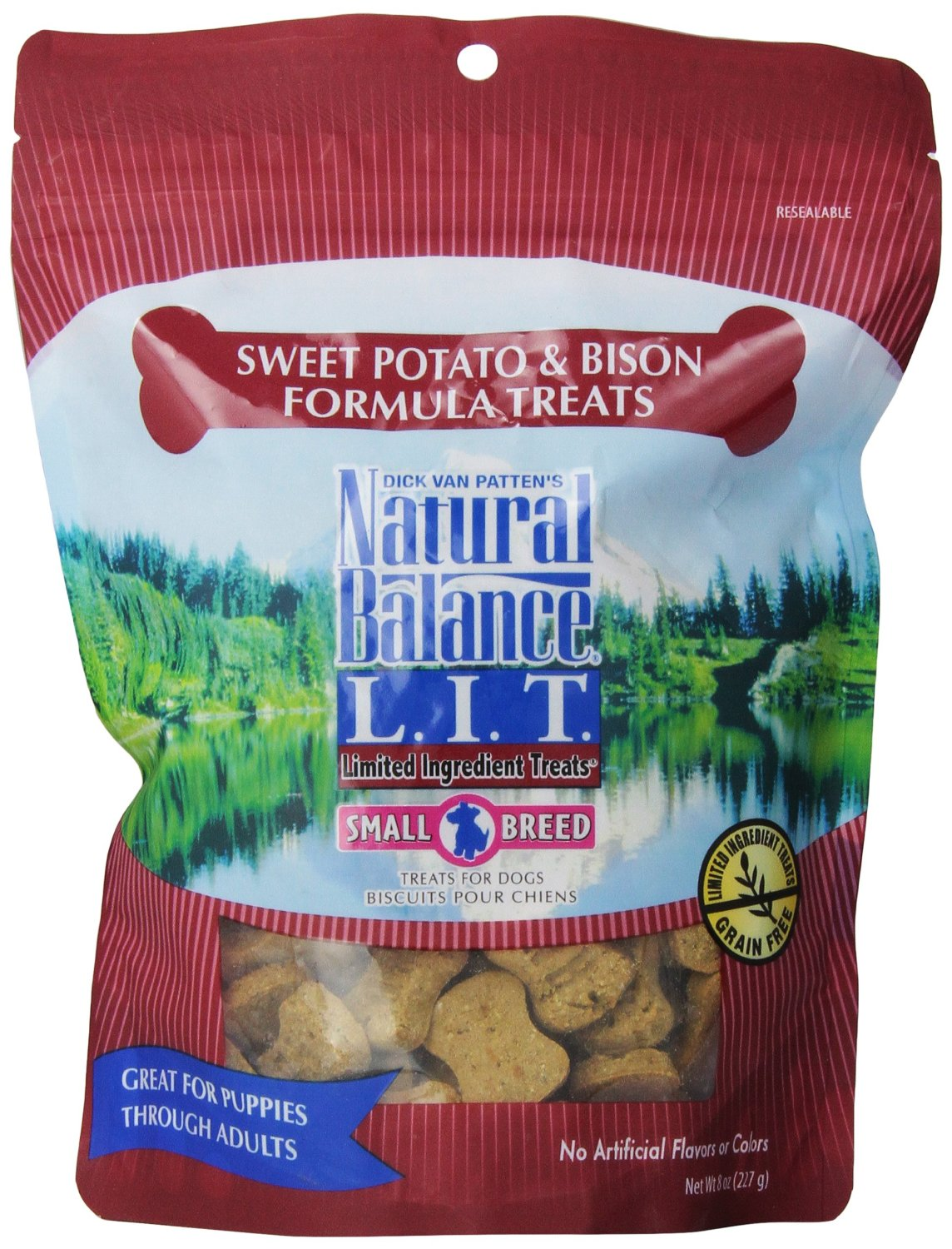 Natural Balance Limited Ingredient Treats Sweet Potato And Bison Treat 8z