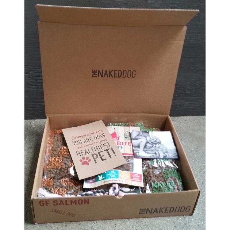 Box Naked Dog Medium Grain-Free Salmon 5z