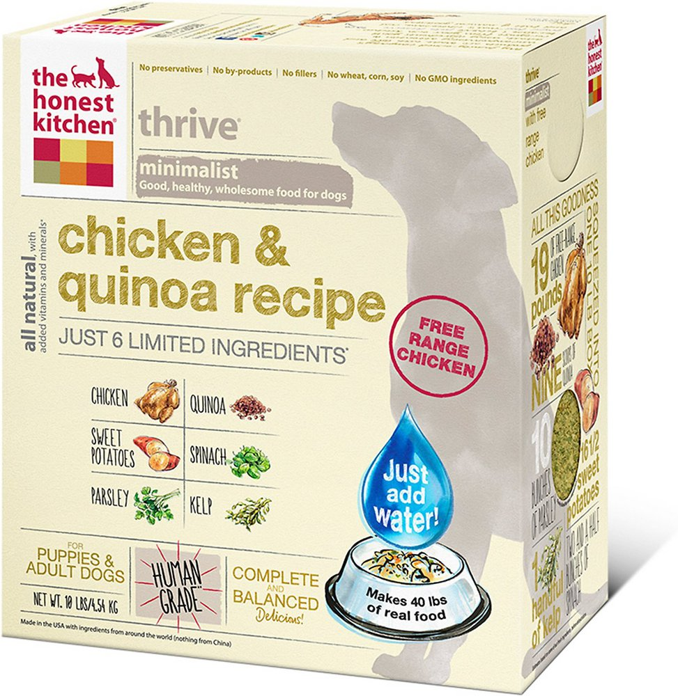 The Honest Kitchen Thrive Dehydrated Dog Food 4lbs