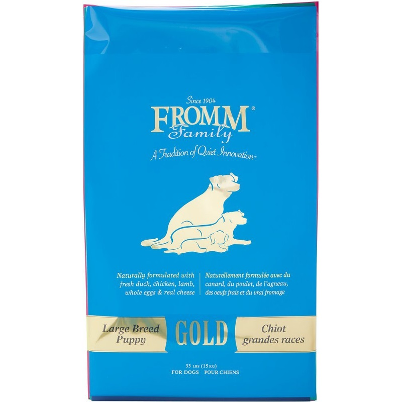 Fromm Gold Holistic Large Breed Puppy Dry Dog Food 33lbs