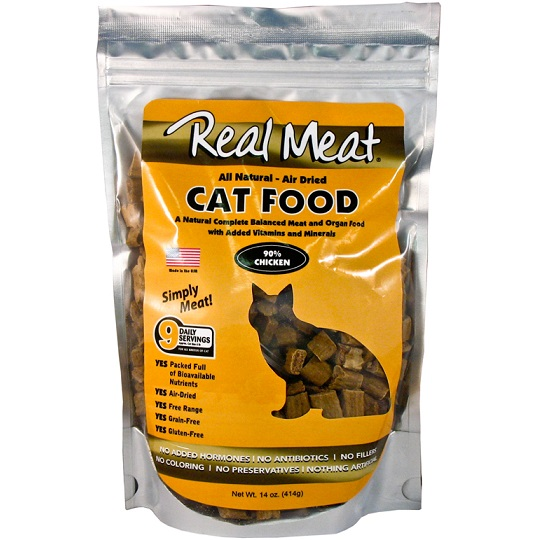 The Real Meat Company 90% Chicken Air-Dried Cat Food 14z d*