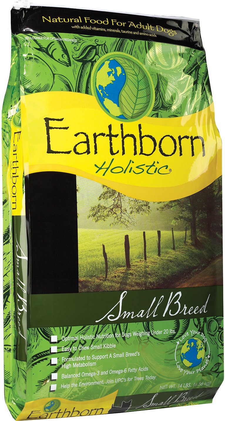 Earthborn Holistic Small Breed Natural Dry Dog Food 14lbs