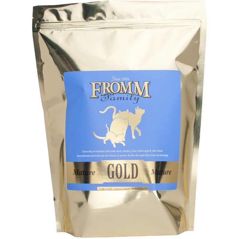 Fromm Gold Holistic Mature Dry Cat Food 5lbs