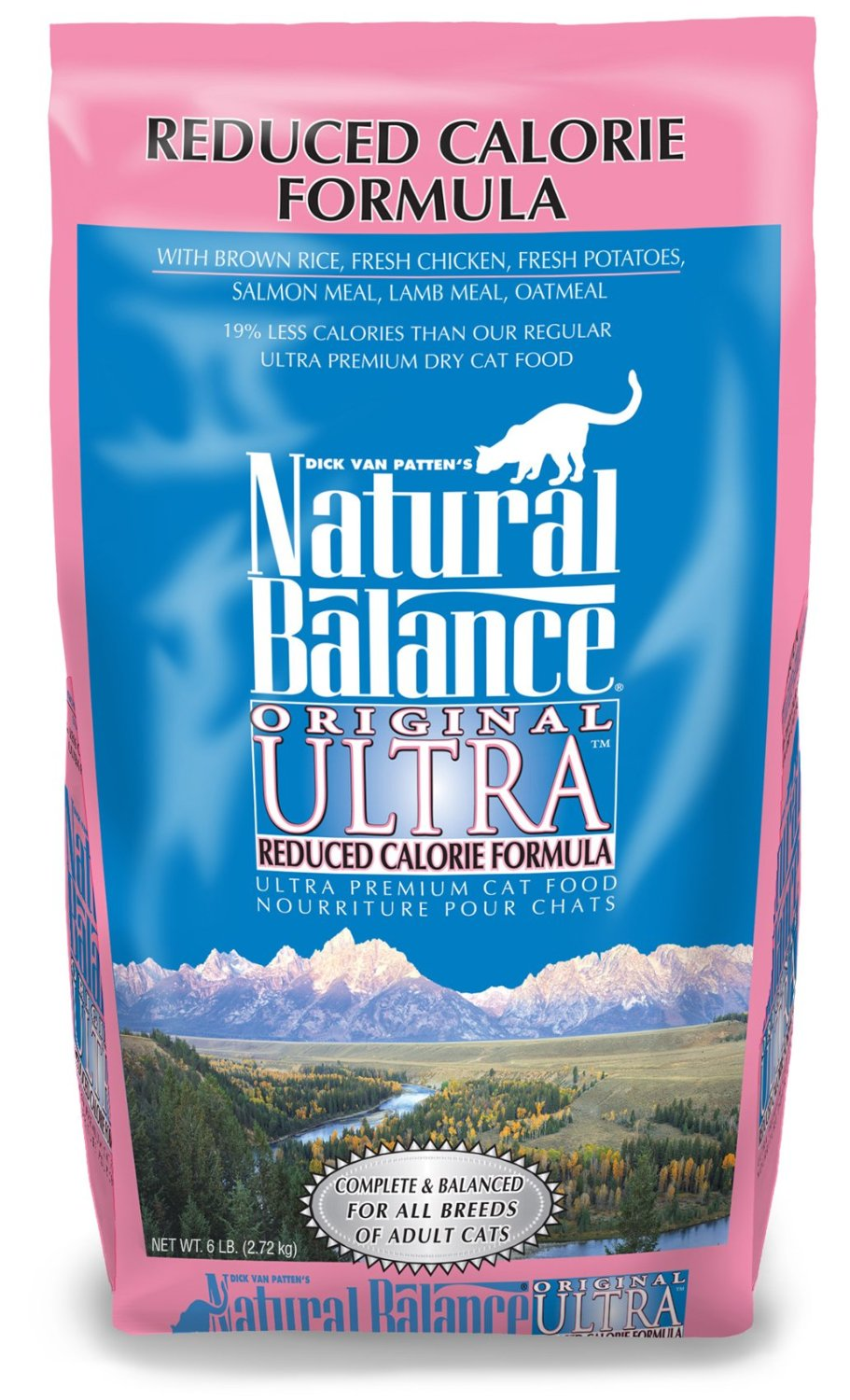 Natural Balance Original Ultra Reduced Calorie Formula Dry Cat Food 6lbs