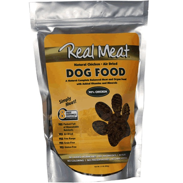 The Real Meat Company 90% Chicken Air-Dried Dog Food 2lbs