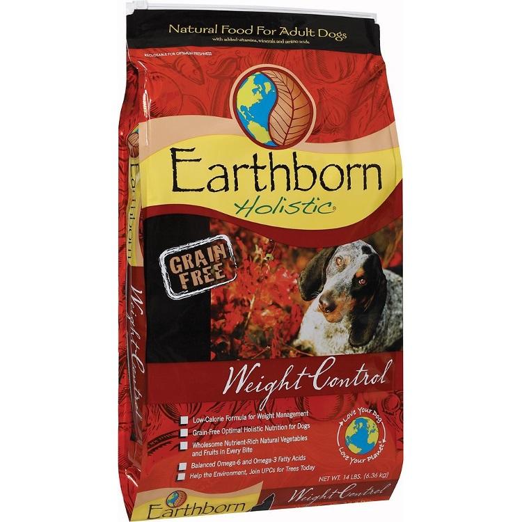 Earthborn Holistic Grain-Free Weight Control Dry Dog Food 14lbs