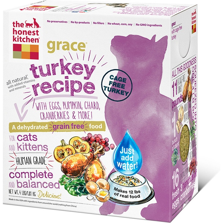 The Honest Kitchen Grace Dehydrated Cat Food 4lbs