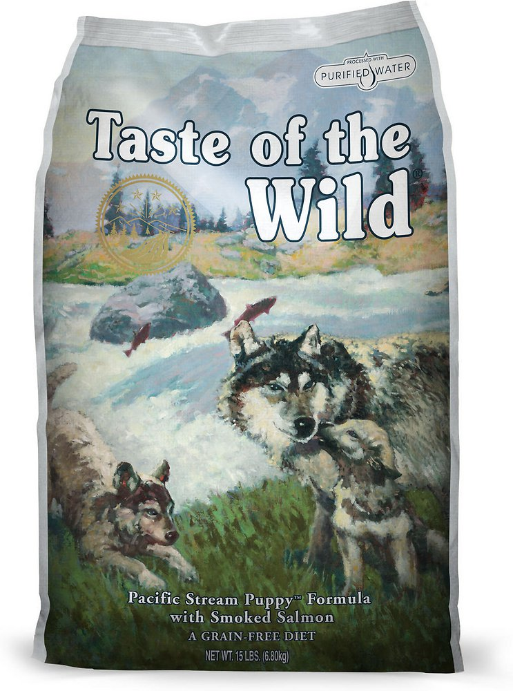 Taste of the Wild Pacific Stream Puppy Formula Dry Dog Food 30lbs