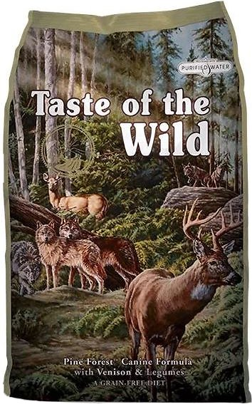 Taste of the Wild Pine Forest Grain-Free Dry Dog Food 28lbs
