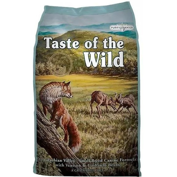Taste of the Wild Appalachian Valley Small Breed Grain-Free Dry Dog Food 28lbs