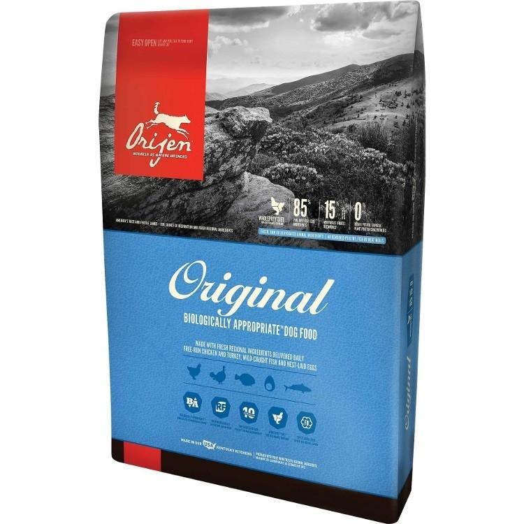 Orijen Adult Grain-Free Dry Dog Food 25lbs