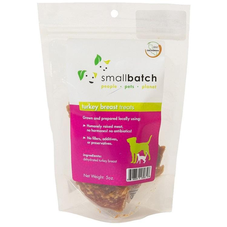 Small Batch Turkey Breast Jerky Dog Treats 5z