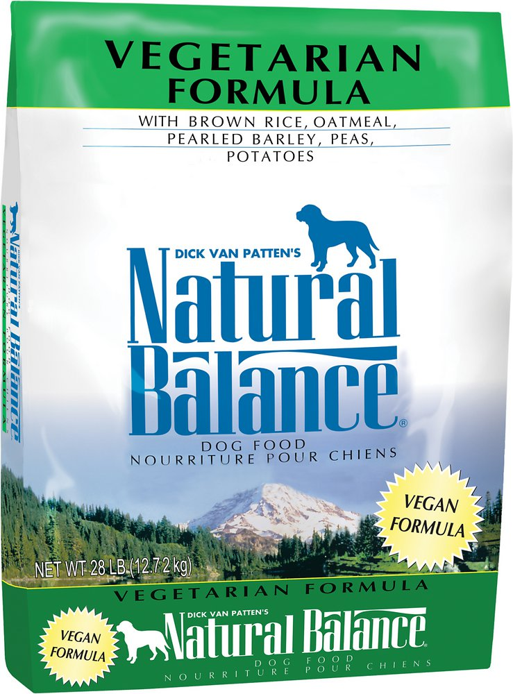 Natural Balance Vegetarian Formula Dry Dog Food 28lbs