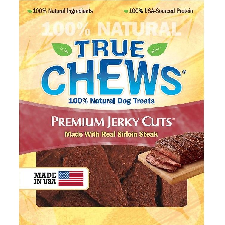 True Chews Sirloin Steak Jerky Dog Treats 22z