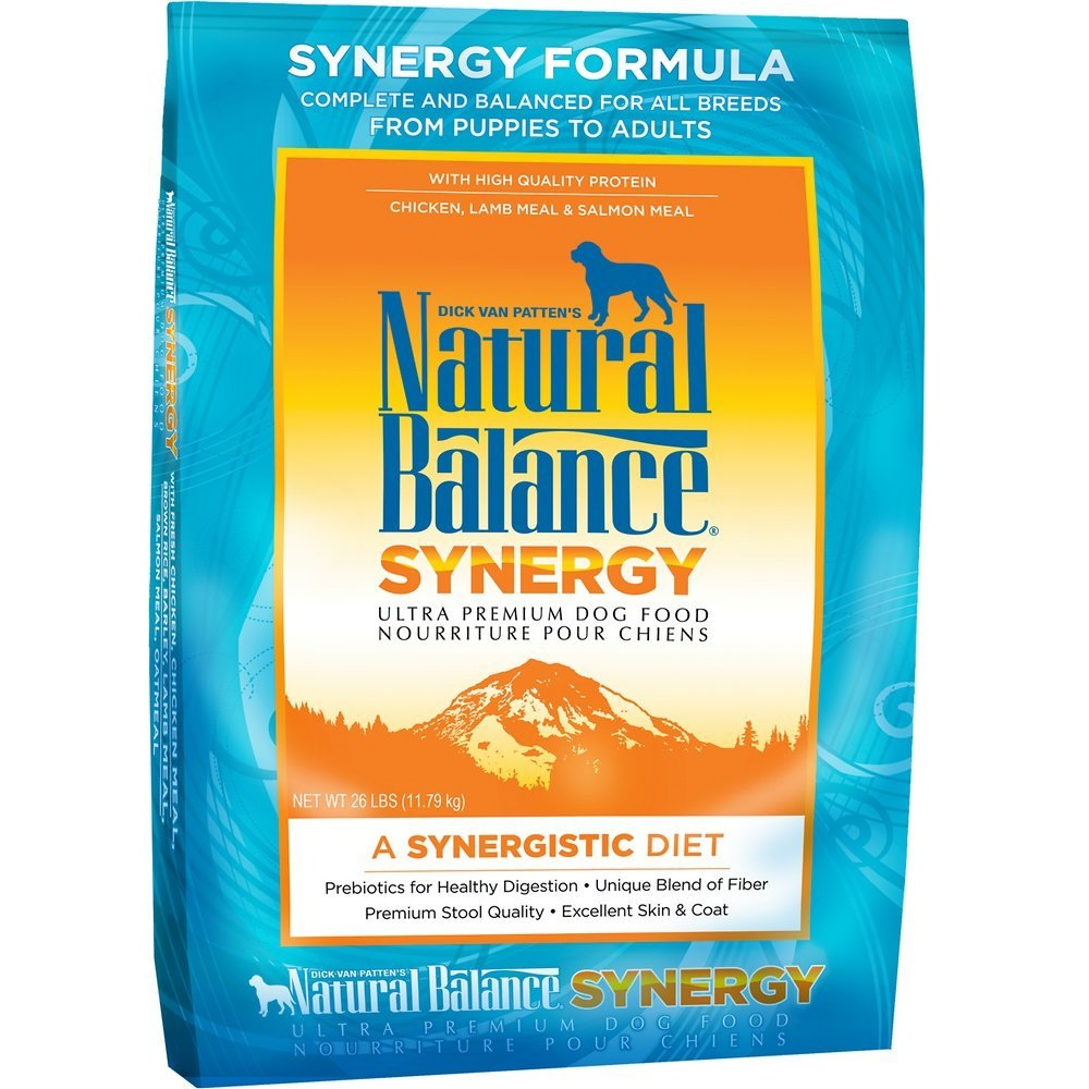 Natural Balance Synergy Formula Dry Dog Food 26lbs