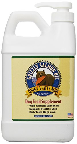 Grizzly Salmon Oil Dog & Cat Supplement 8z