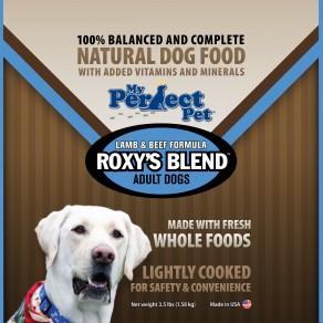 My Perfect Pet Roxy's Blend Lamb & Beef Frozen Dog Food 3.5lbs