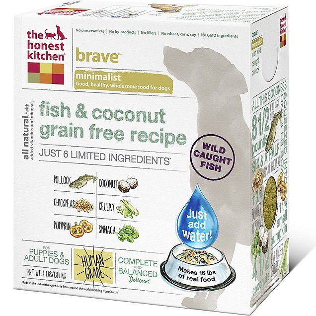 The Honest Kitchen Brave Dehydrated Dog Food 4lbs