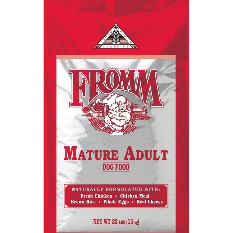 Fromm Family Classics Mature Formula Dry Dog Food 33lbs