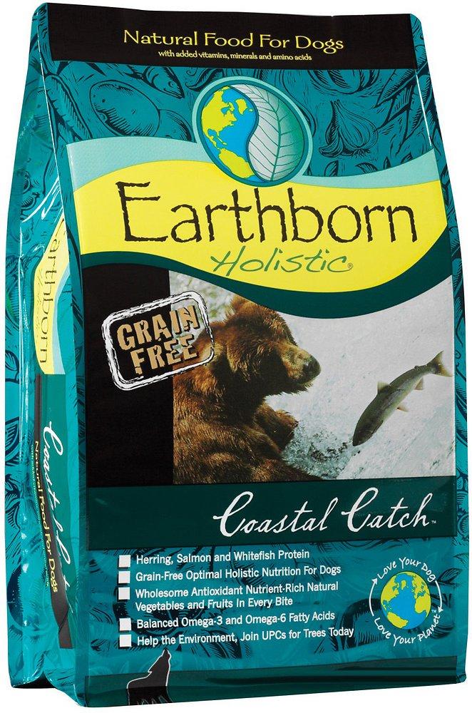 Earthborn Holistic Coastal Catch Grain-Free Natural Dry Dog Food 5lbs