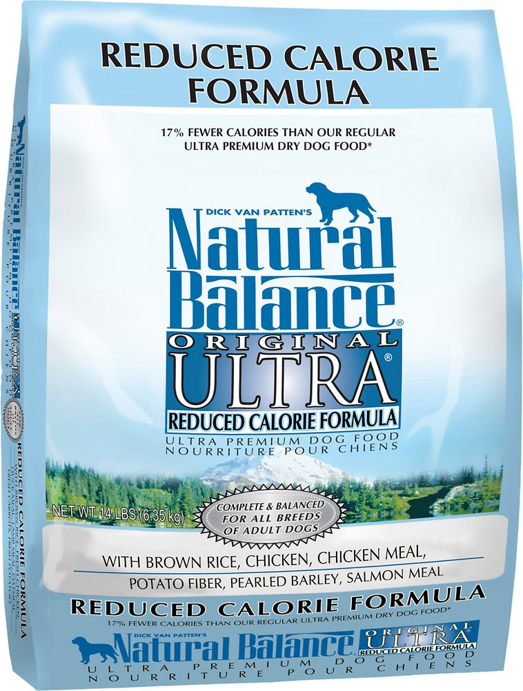 Natural Balance Original Ultra Reduced Calorie Formula Dry Dog Food 14lbs
