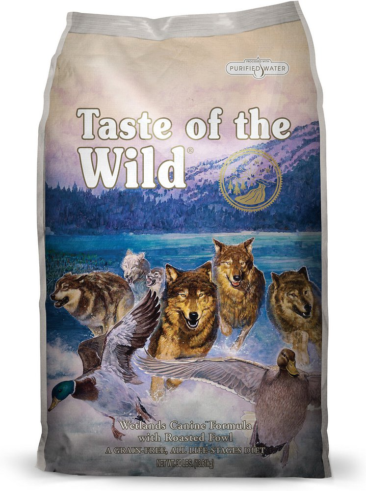 Taste of the Wild Wetlands Dry Dog Food 30lbs