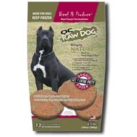 OC Raw Grain-Free Beef & Produce Patties Raw Frozen Dog Food 6.5lbs