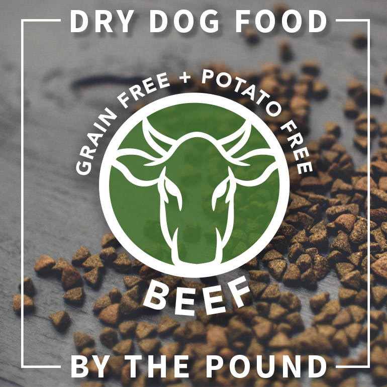 DOG Naked Beef Dry Dog Food By the Pound Grain-Free Potato-Free
