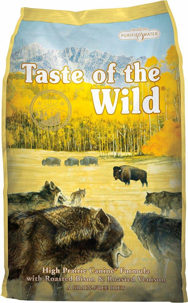 Taste of the Wild High Prairie Dry Dog Food 5lbs