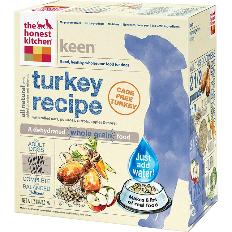 The Honest Kitchen Keen Dehydrated Dog Food 2lbs
