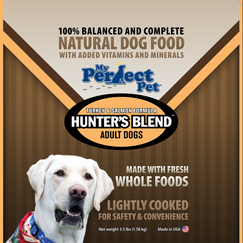 My Perfect Pet Grain-Free Hunter's Turkey & Salmon Frozen Dog Food 3.5lbs