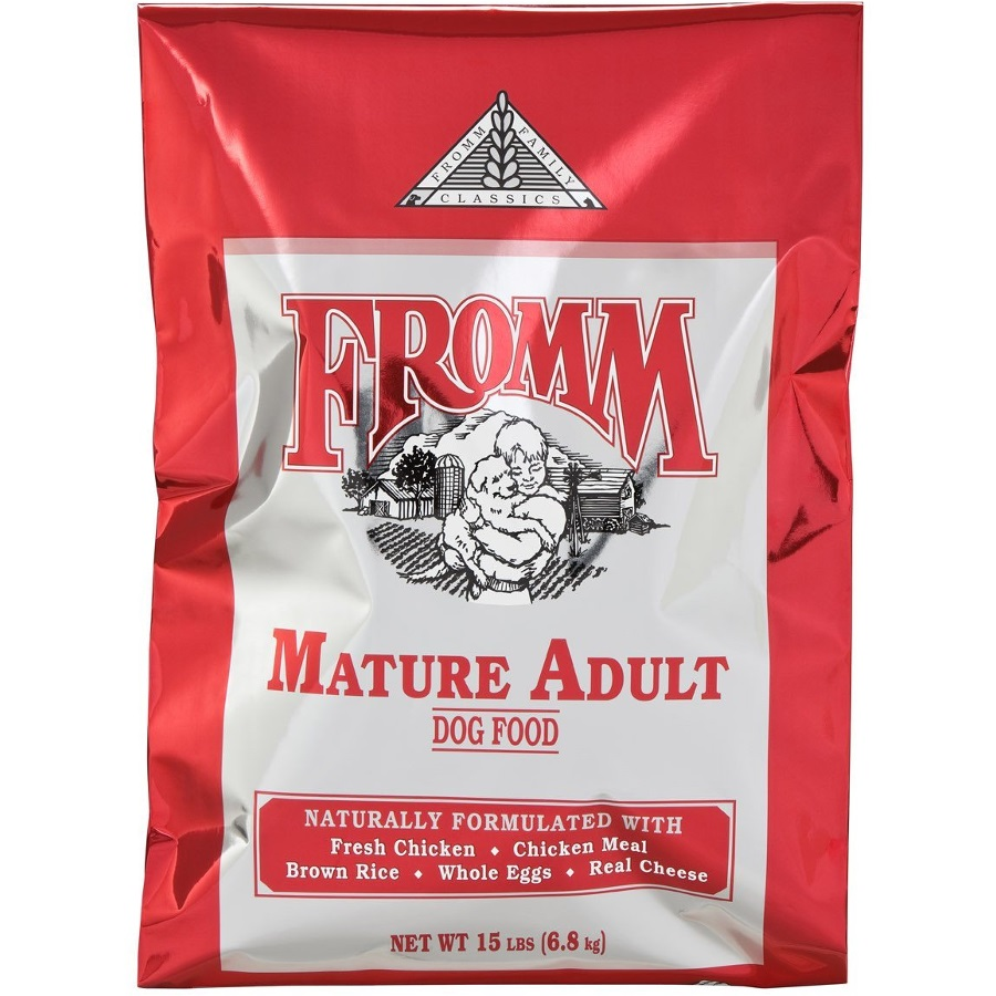 Fromm Family Classics Mature Formula Dry Dog Food 15lbs